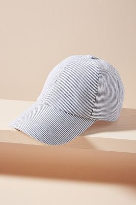 Striped Baseball Cap by Wyeth