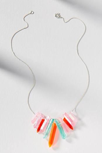 Tina Lilienthal Quartz Threader Necklace kOh2D3pF1F