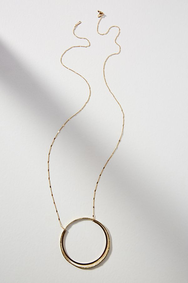 Idina circle pendant necklace anthropologie slide view 1 idina circle pendant necklace aloadofball Choice Image