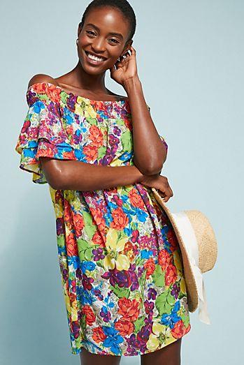 0dfb61a555d Allihop Off-The-Shoulder Cover-Up Dress