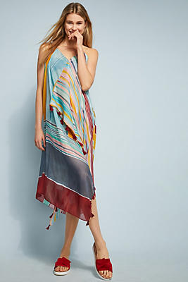 Slide View: 1: Casa Madre Cover-Up Dress