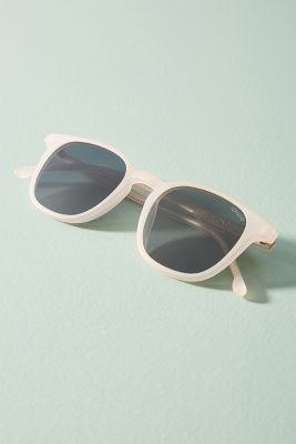 Komono   Maurice Square Sunglasses  -    Powder Pink
