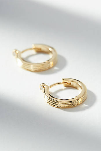 Isadora Hugger Hoop Earrings