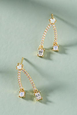 Anthropologie Jollie Split Drop Earrings 3qDOe