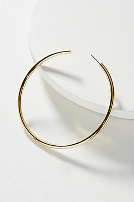 Anthropologie Jenny Hoop Earrings 07le2trRma