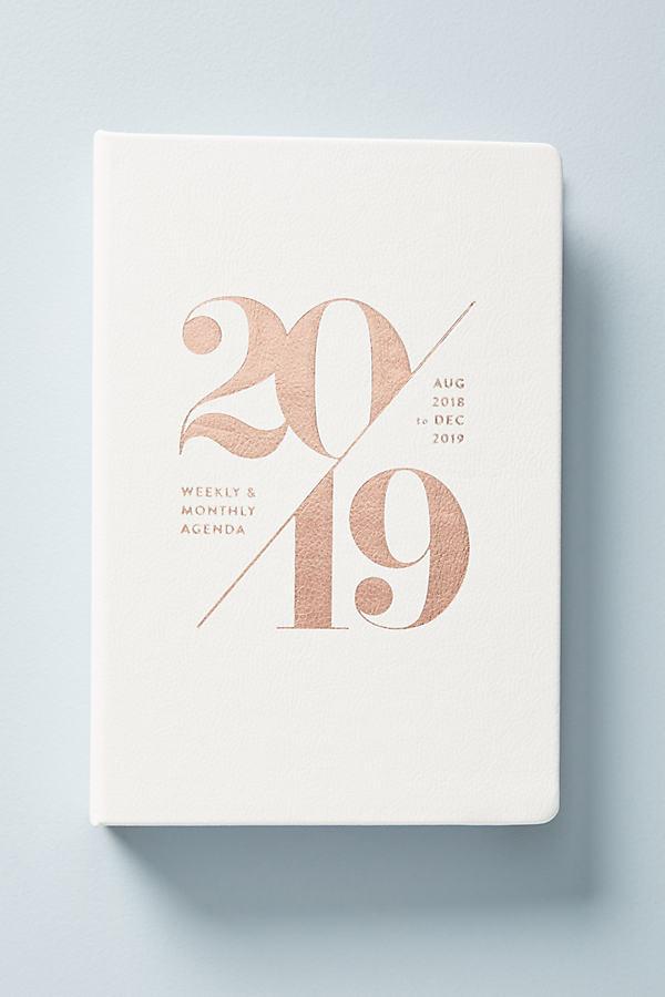 Mila 2018-2019 Planner - White