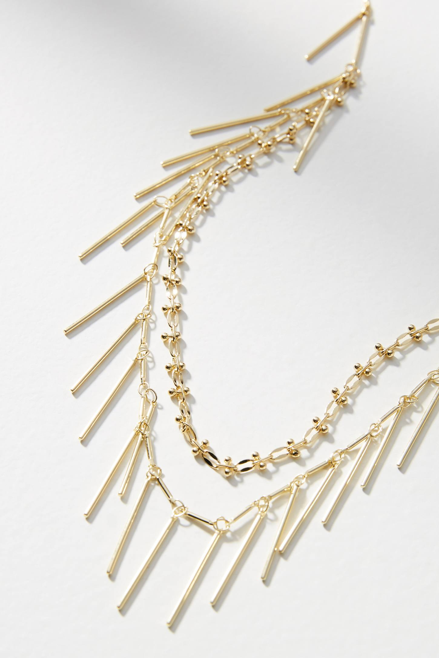 Anthropologie Kittery Layered Necklace JNKfI