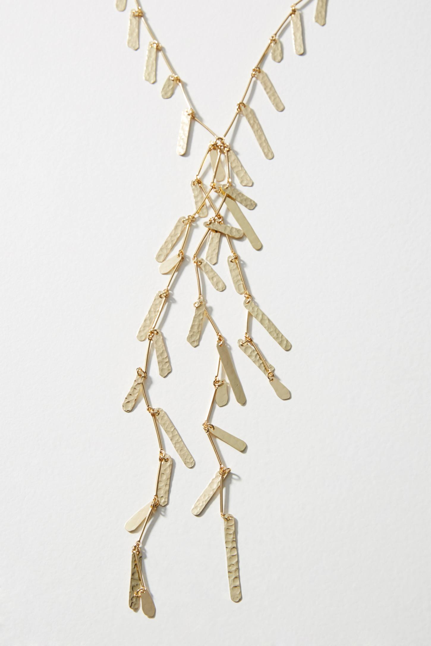 Anthropologie Spring Showers Y-Necklace