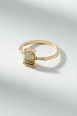 Vero Square Ring by Melanie Auld