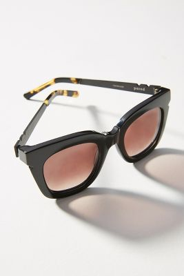 Pared Eyewear   Pared Eyewear Sugar + Spice Sunglasses  -    BLACK