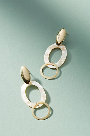 Anthropologie Pegasus Drop Earrings qcRk8