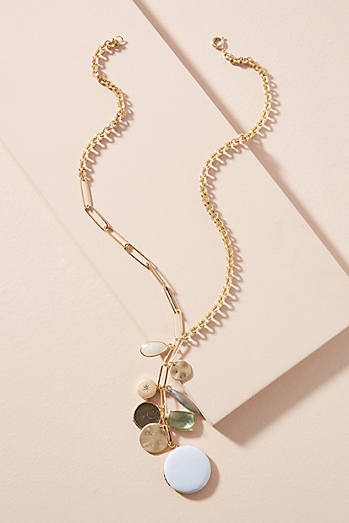 Anthropologie Balancing Act Pendant Necklace OLZ5HrZbH