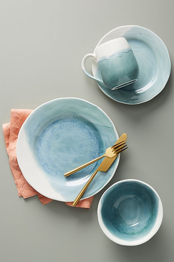 Slide View: 1: Cabarita Dinner Plates, Set of 4