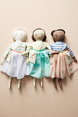 Slide View: 4: Meri Meri Fabric Doll