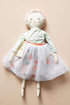 Slide View: 1: Meri Meri Fabric Doll