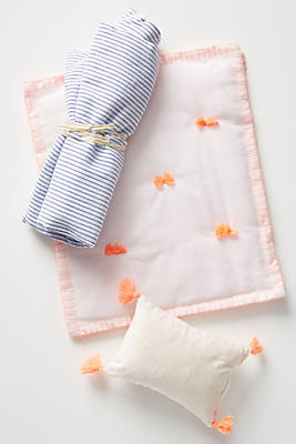 Slide View: 1: Doll Bedding Kit