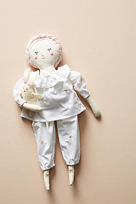 Slide View: 2: Bedtime Bunny Doll Dress-Up Kit