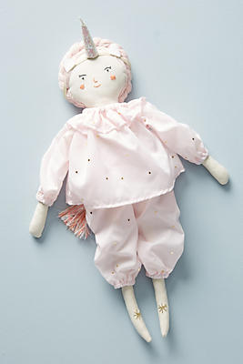 Slide View: 2: Unicorn Doll Dress-Up Kit