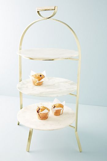 Gifts wedding gift anthropologie irina serving stand negle Image collections