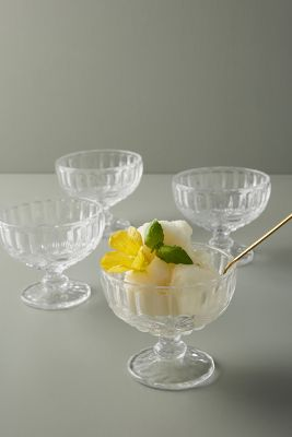 Pedestal Dessert Bowl Set by Anthropologie