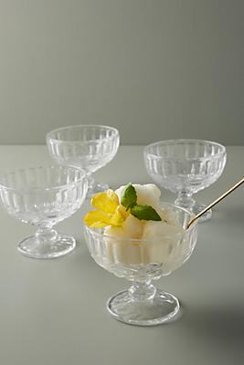 Slide View: 1: Pedestal Dessert Bowl Set