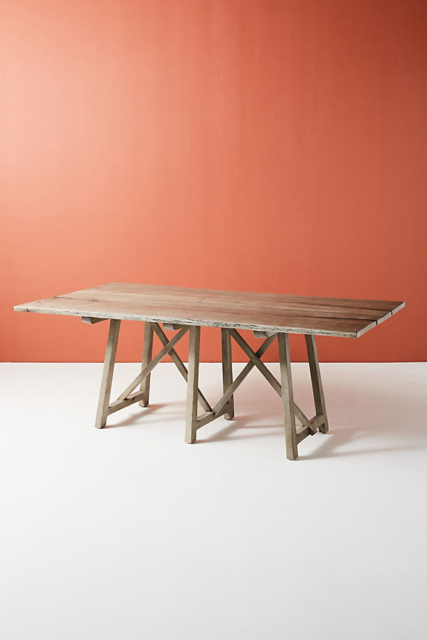 Farmhouse Dining Table - Grey