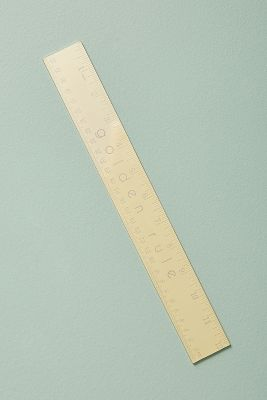 golden-rule-ruler by anthropologie