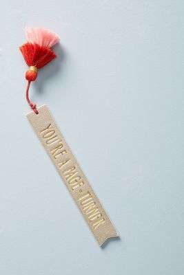 Page Turner Bookmark by Anthropologie