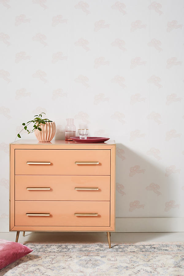 Clare V . Bows Wallpaper By . In Pink Size Xs