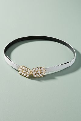 Monie Leaf Waist Belt by Raina Belts