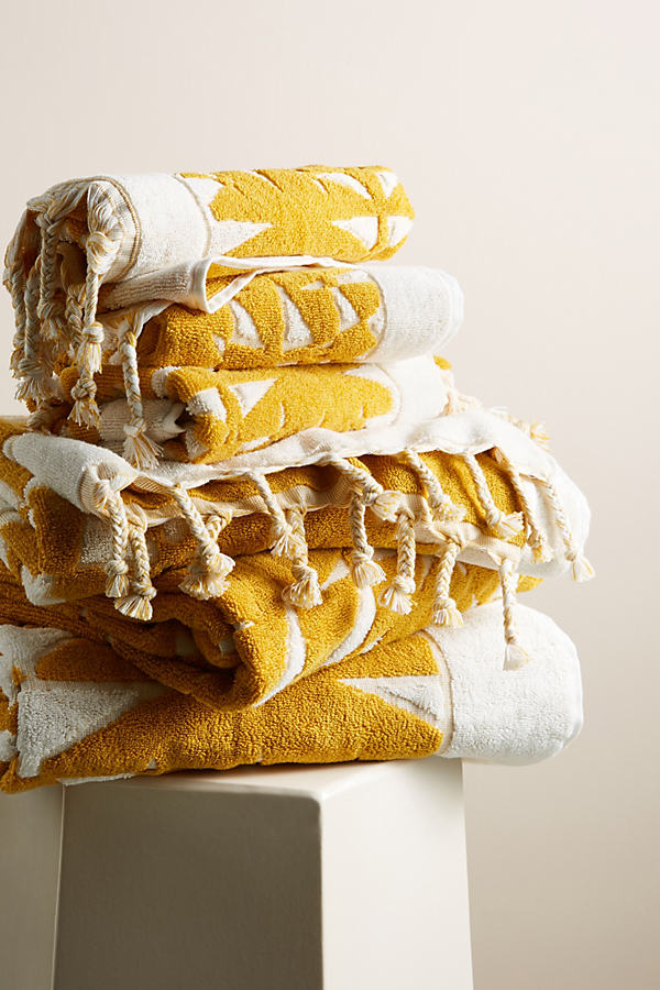 Brewer Towel Collection - Yellow, Size Bath Towel