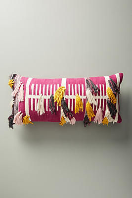 Slide View: 1: Woven Janet Pillow