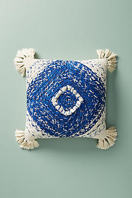 Slide View: 1: Woven Phyllis Pillow