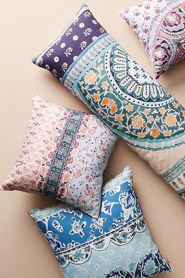 French Classic And Country Pillows Add Charming Color And