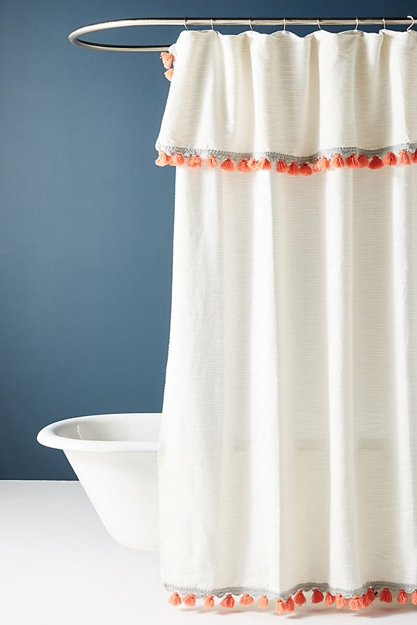 Shower Curtains That Add Stylish Color And Design To Your Bath Decor