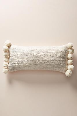 Slide View: 1: Pommed Jute Pillow