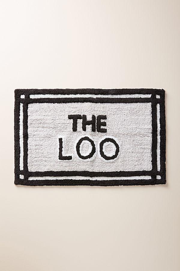 Slide View: 1: The Loo Bath Mat