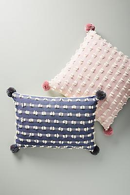 Slide View: 4: Textured Mareika Pillow