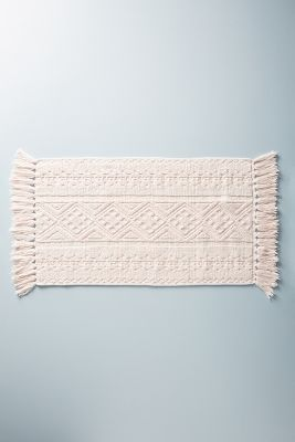Textured Vita Bath Mat by Anthropologie