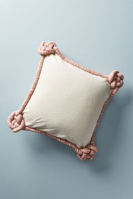 Knotted Alden Pillow by Anthropologie