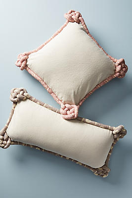 Slide View: 2: Knotted Alden Pillow