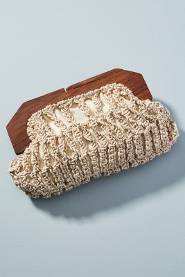 Sinclair Crocheted Clutch by Cleobella