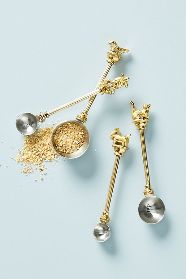 Beautiful Measuring Spoons, Set of 4 | Anthropologie