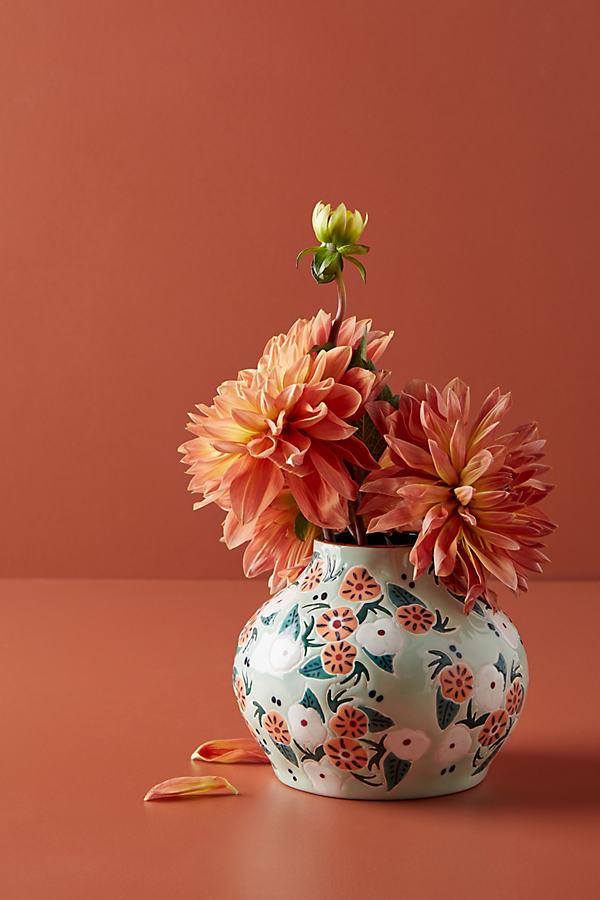 Mathilde Vase - Mint, Size S