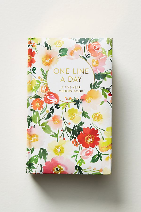 Slide View: 1: One Line A Day: A Five-Year Memory Book