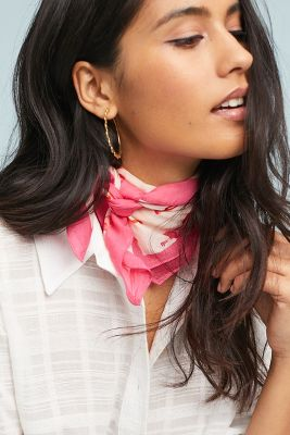 Pacific Paradise Kerchief Scarf by Anthropologie