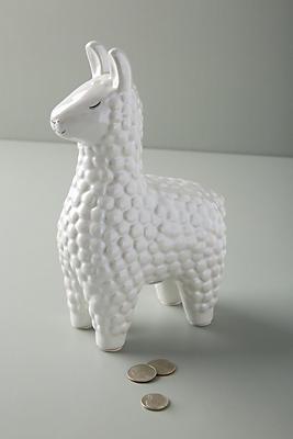 Slide View: 2: Ceramic Llama Bank