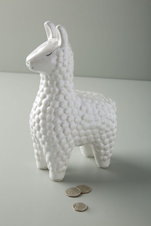 Slide View: 2: Ceramic Llama Bank