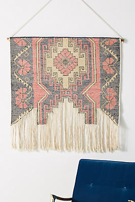Slide View: 1: Anya Knotted Tapestry Wall Hanging