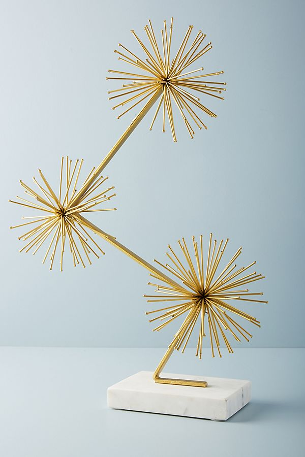 Slide View: 1: Burst Trifecta Decorative Object